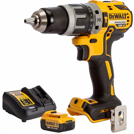 """main image of """"Dewalt DCD796N 18v Brushless 2 Speed Combi Drill With 1 x 4.0Ah Battery & Charger:18V"""""""