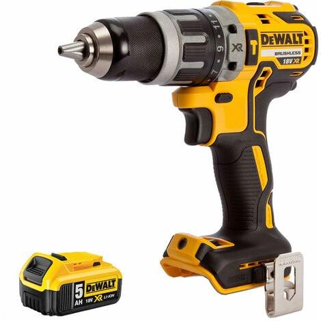 "main image of ""Dewalt DCD796N 18v XR Brushless 2 Speed Combi Drill With 1 x 5.0Ah Battery:18V"""