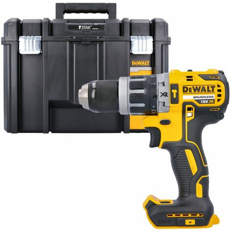 Dewalt DCD796N 18v XR Brushless Compact Combi Drill With DWST1-71195 T-Stack Case