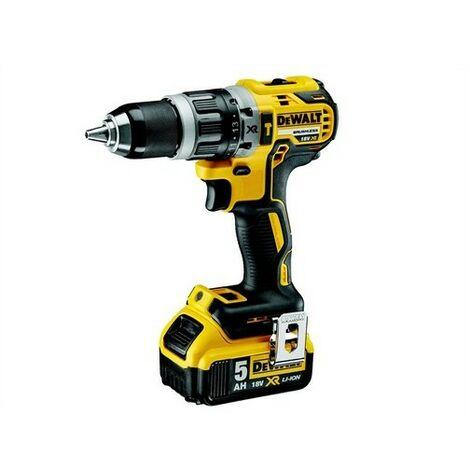 DeWalt DCD796P2-GB XR Brushless Hammer Drill 18 Volt 2 x 5.0Ah Li-Ion