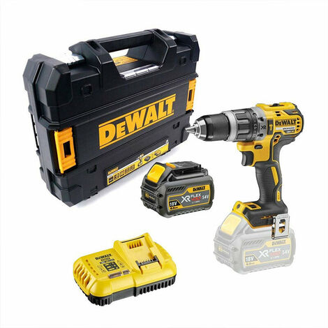 DeWalt DCD796T1-GB 18V XR Brushless Combi Drill 1x 6.0Ah Battery
