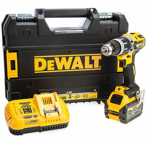 Dewalt DCD796T1T 18V Brushless Combi Drill With 1 x 6.0Ah Battery & Charger:18V