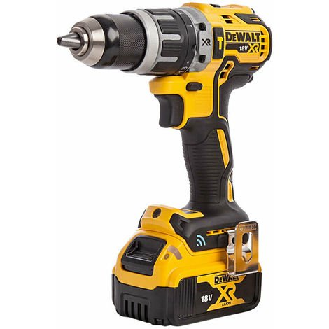 DeWalt DCD797N 18V Brushless Combi Hammer Drill with 1 x 4.0Ah Battery