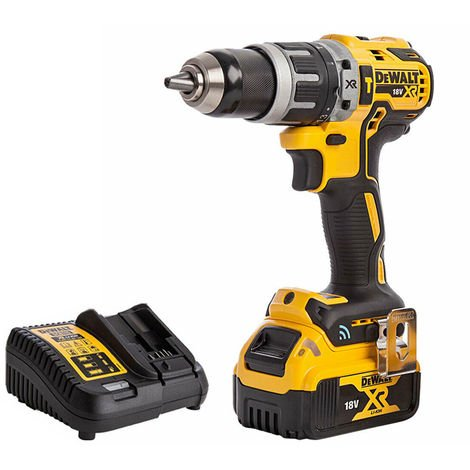 DeWalt DCD797N 18V Brushless Combi Hammer Drill with 1 x 4.0Ah Battery & Charger