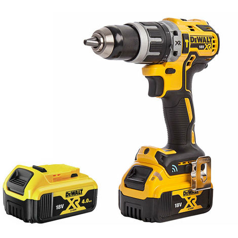 DeWalt DCD797N 18V Brushless Combi Hammer Drill with 2 x 4.0Ah Batteries