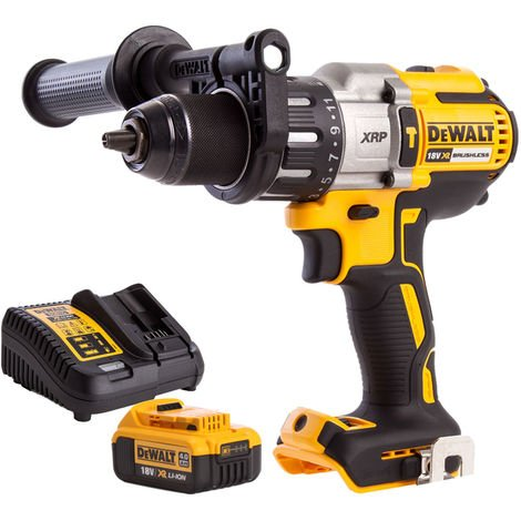 Dewalt DCD996N 18V Brushless Combi Drill with 4.0Ah Bettery & Charger