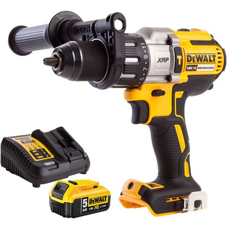 Dewalt DCD996N 18V Brushless Combi Drill with 5.0Ah Battery & Charger