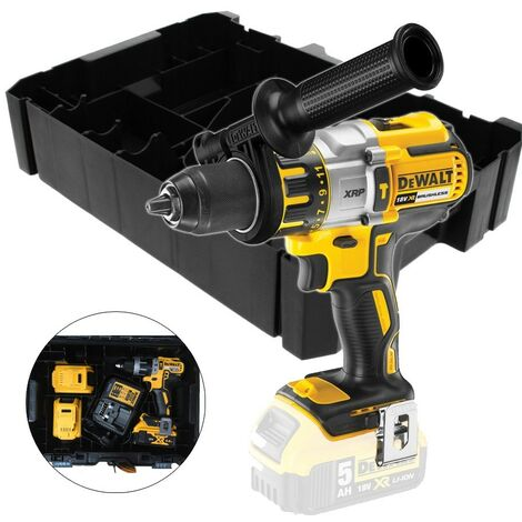 Dewalt DCD996N 18v XR 3 Speed Brushless Combi Hammer Bare + N530863 TSTAK Inlay