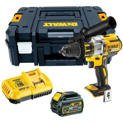 Dewalt DCD996T1 18v XR 3 Speed Brushless Combi Hammer - 1 x 6.0ah Battery
