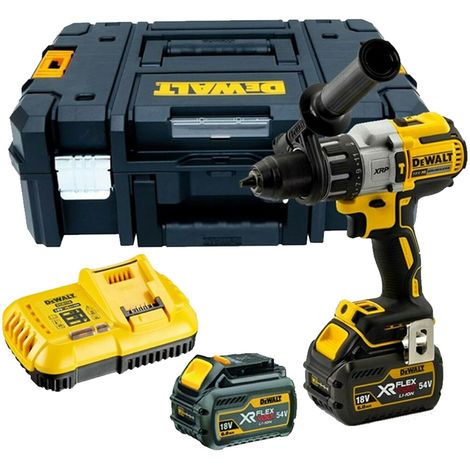 Dewalt DCD996T2 18v Brushless Combi Hammer with 2 x 6.0Ah Batteries & Charger in TSTAK