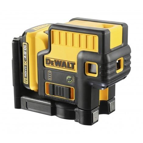 DeWALT DCE085D1G Niveau laser 5 points XR 10.8V 2Ah Li-Ion faisceau vert coffret