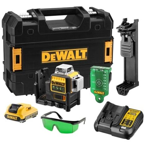 DeWalt DCE089D1G 10.8V Self-Levelling 360° Cross Line Laser with 1 x 2.0Ah Battery
