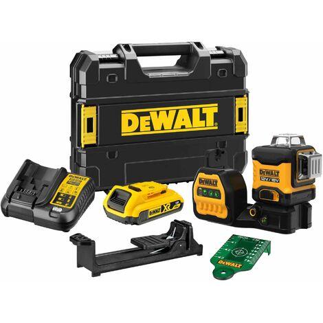 Dewalt DCE089D1G18-GB 18V 360 Degree Multi Line Laser Kit