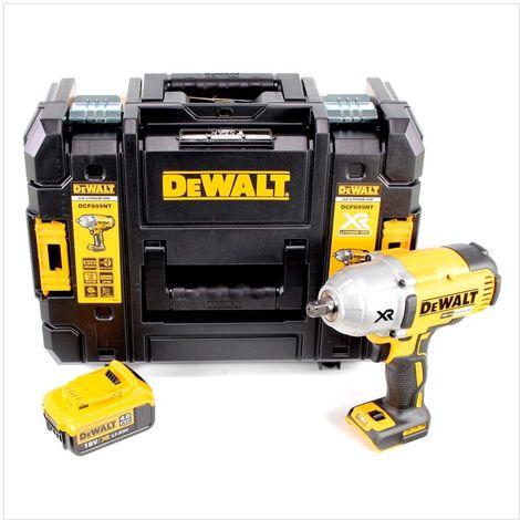 """DeWalt DCF 899 Visseuse à chocs sans fil 1/2"""" 18V 950Nm + 1x Batterie 4,0Ah + Coffret de transport TSTAK II Box - sans Chargeur"""