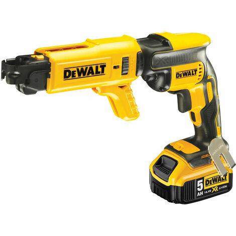 DeWalt DCF620P2K Brushless Collated Drywall Screwdriver 18V 2 x 5.0Ah Li-ion