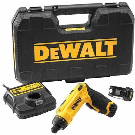 DeWalt DCF680G2 7.2V Li-Ion batería Juego de Atornillador(2x baterías de 1.0 amperios) en maletín