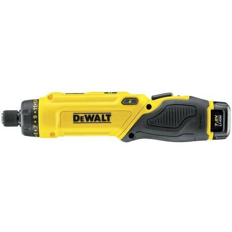 DEWALT DCF680G2-QW - Atornillador XR 7.2V 1-4 Li-Ion 2x 1.0 Ah