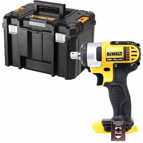 Dewalt DCF880 18V XR Compact Impact Wrench With DWST1-71195 Case
