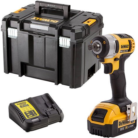 Dewalt DCF880N 18V Impact Wrench with 1 x 5.0Ah Battery & Charger in Case