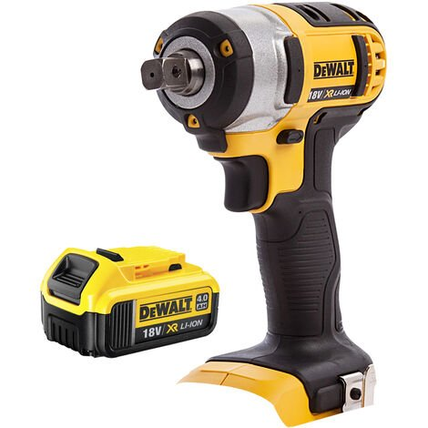 Dewalt DCF880N 18V XR Compact Impact Wrench With 1 x 4.0Ah Batteries