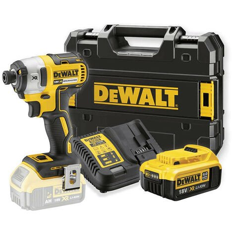 Dewalt DCF887M1 18v Brushless Impact Driver with 1 x 4.0Ah Battery