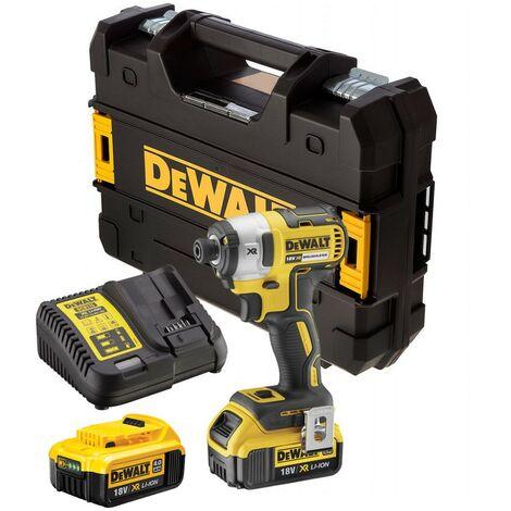Dewalt DCF887M2 18V XR G2 Brushless 3 Speed Impact Driver - 2 x 4.0ah Batteries