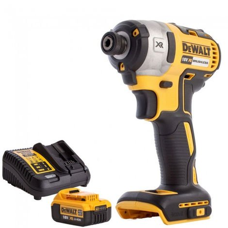 DeWalt DCF887N 18v Brushless Impact Driver With 4.0Ah Battery & Charger
