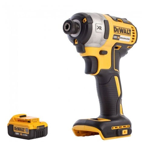 DeWalt DCF887N 18v Brushless Impact Driver with 4.0Ah Bettery
