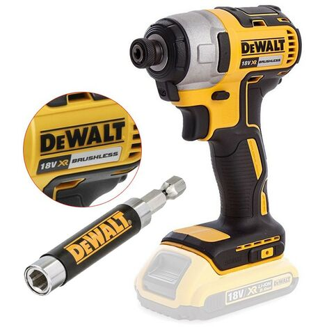 Dewalt DCF887N 18v XR Brushless Impact Driver Bare & DT7701 Magentic Bit Holder