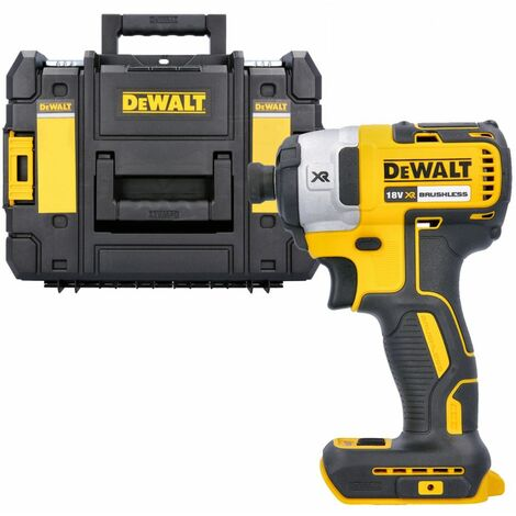 Dewalt DCF887N 18V XR Brushless Impact Driver With DWST1-70703 T-Stack Case