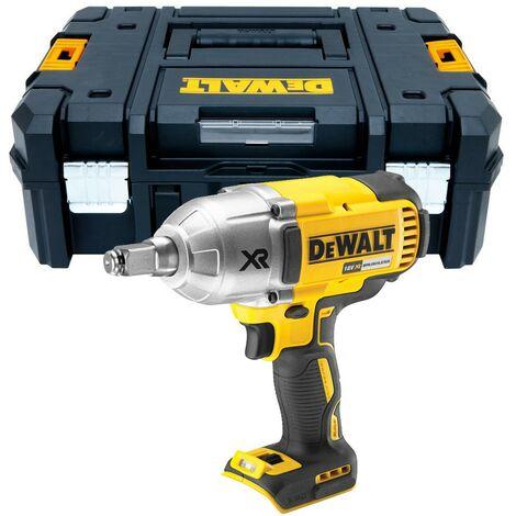 """Dewalt DCF899HN 1/2"""" 18v Hog Ring XR High Torque Impact Wrench Bare + Tstak Case"""