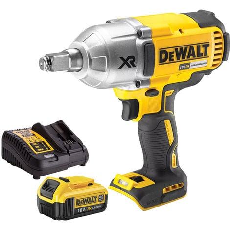 DeWalt DCF899HN 18V Brushless Impact Wrench 1 x 4Ah Battery & Charger:18V