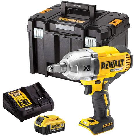 DeWalt DCF899HN 18V Brushless Impact Wrench 1x4Ah Battery Charger Case:18V