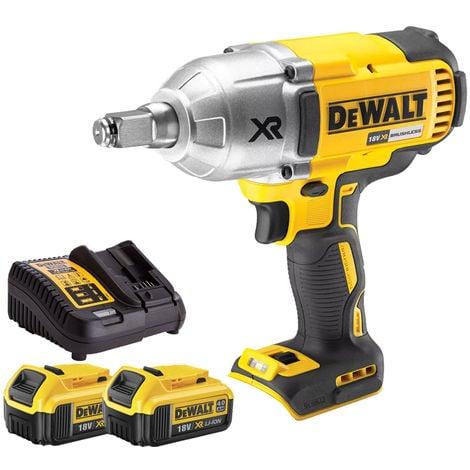 DeWalt DCF899HN 18V Brushless Impact Wrench 2 x 4Ah Batteries Charger:18V