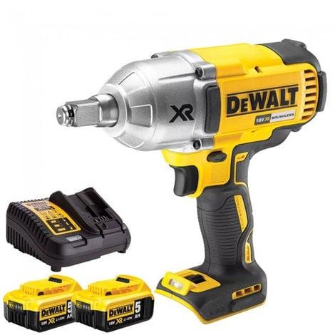 DeWalt DCF899HN 18V Brushless Impact Wrench 2 x 5Ah Batteries Charger:18V