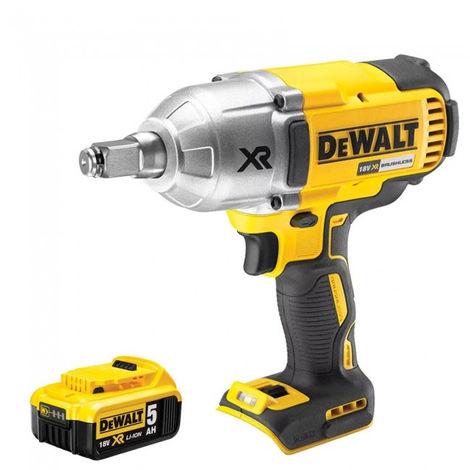 DeWalt DCF899HN 18V Brushless Impact Wrench With 1 x 5.0Ah Battery:18V