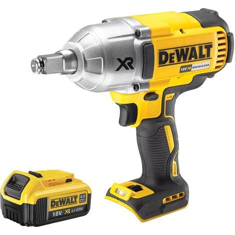 DeWalt DCF899HN 18V Hog Ring High Torque Impact Wrench 1 x 4Ah Battery:18V