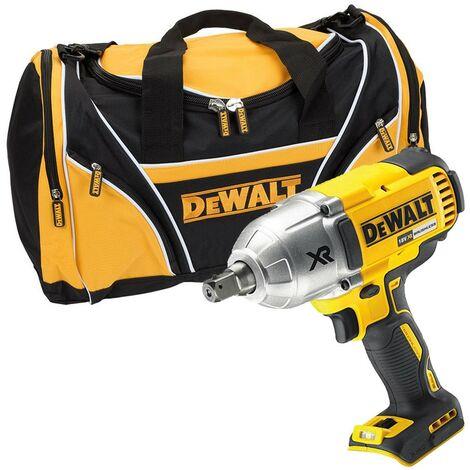 "Dewalt DCF899N XR High Torque Impact Wrench 18v Li-Ion 1/2""+ Tool Carry Bag"