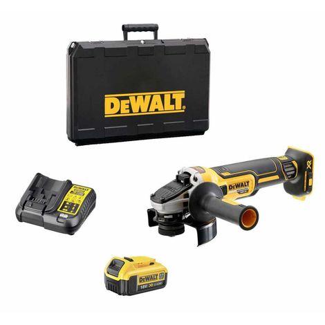 DeWALT DCG405M1M (1 x 4,0 Ah + DCB107 + Coffret)