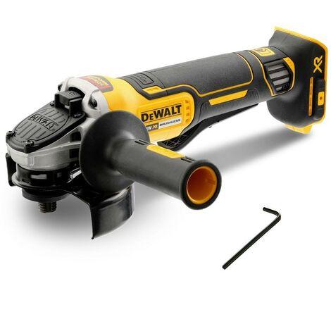 Dewalt DCG406N 18v XR Brushless Cordless 125mm Angle Grinder Paddle Switch Bare