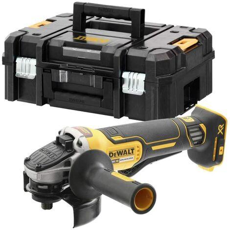 Dewalt DCG406NT-XJ Meuleuse d'angle sans fil sans batterie ni chargeur, 18 V, noir/jaune, 125 mm