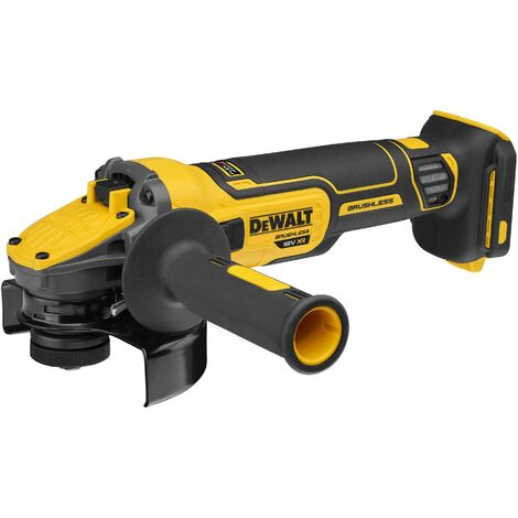 DeWalt DCG409NT-XJ 18v XR High Power 125mm Grinder With Flexvolt Advantage Body Only In TSTAK Case