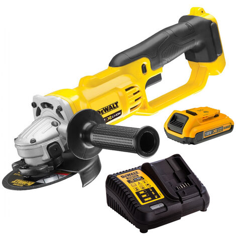 DeWalt DCG412N 18V 125mm Angle Grinder with 1 x 2.0Ah Battery & Charger