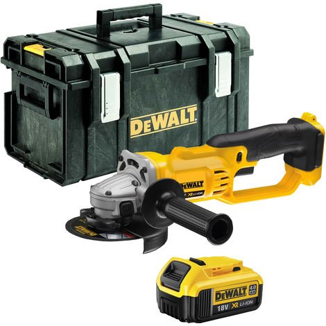 DeWalt DCG412N 18V 125mm Angle Grinder With 1 x 4Ah Battery & Kit Box