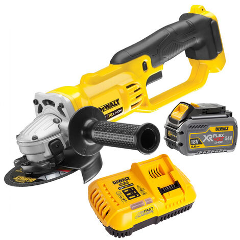 DeWalt DCG412N 18V 125mm Angle Grinder With 1 x 6.0Ah Battery Charger