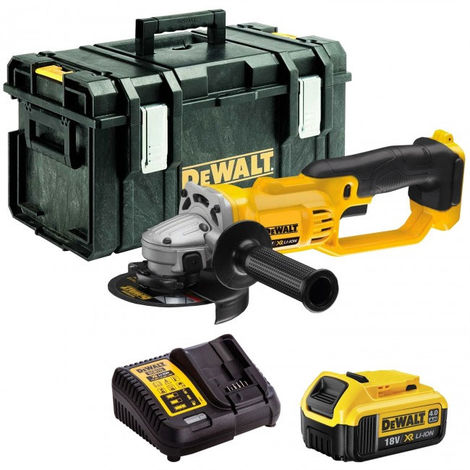 DeWalt DCG412N 18V Li-ion 125mm Angle Grinder with 1 x 4.0Ah Battery & Charger in Box