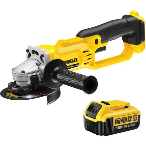 DeWalt DCG412N 18v XR 125mm Angle Grinder 1 x 4.0ah Battery