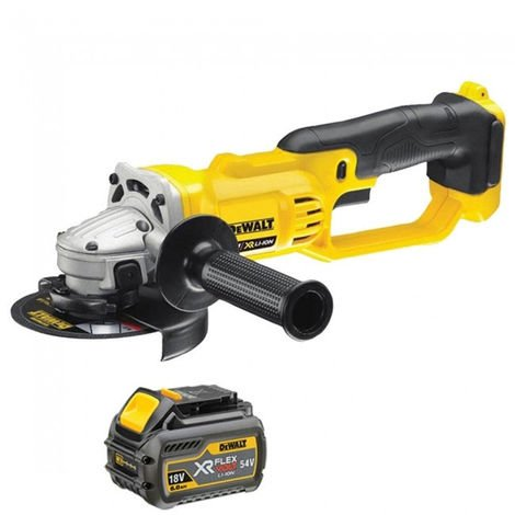DeWalt DCG412N 18v XR 125mm Angle Grinder With 1 x 6.0ah Battery