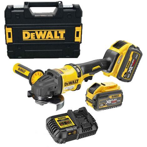 DeWalt DCG418X2 Flexvolt 54V Brushless Cordless Grinder Kit 2 x 9Ah Batt