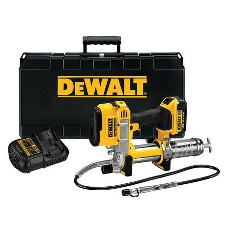 DeWalt DCGG571M1 18 Volt XR Li-ion Grease Gun 1 x 4.0Ah Battery
